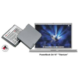 "Batterie NuPower NewerTech - PowerBook G4 15"" Titanium"