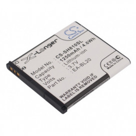 Batterie Sharp compatible SH80iUC, SH81iUC