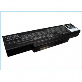 Batterie CLEVO 4400mAh/48.84Wh 11,1V compatible MobiNote M660, MobiNote M660JE, MobiNote M660N, MobiNote M660S, MobiNote M661