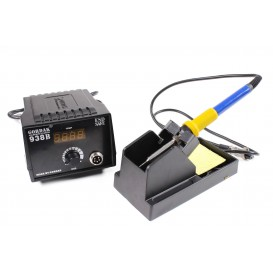 Soldering station with LCD