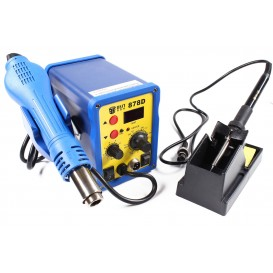 Hot Air Solder station with LCD