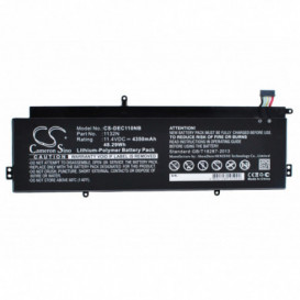Batterie DELL 4350mAh / 48.29Wh 11,4V compatible Chromebook 11
