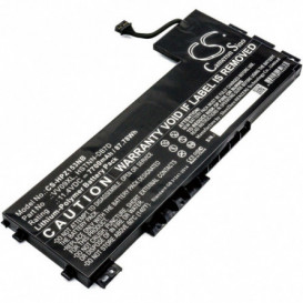 Batterie HP 7700mAh / 87.78Wh 11,4V compatible ZBook 15 G3, ZBook 17 G3