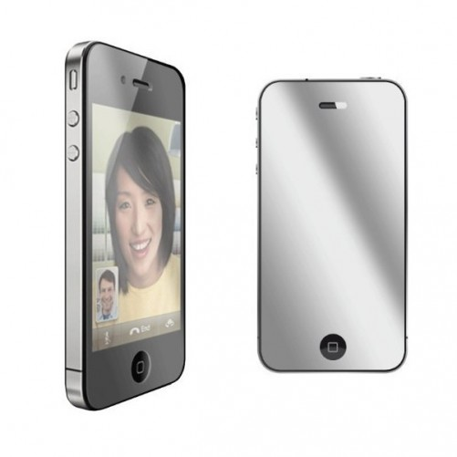 Film de protection miroir pour iphone 4 4s for Ecran en miroir