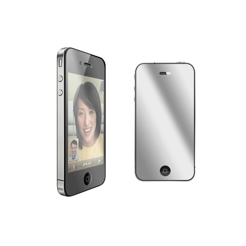 Film de protection miroir pour iphone 4 4s for Application miroir pour iphone