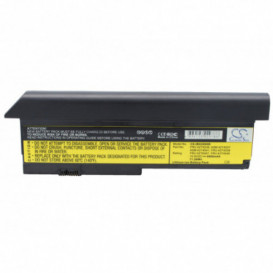 Batterie IBM 6600mAh 10,8V compatible ThinkPad Elite X200, ThinkPad Elite X200s, ThinkPad X200, ThinkPad X200 7454, ThinkPad