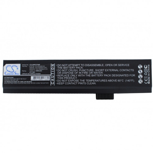 Batterie LAM Systems 4400mAh 10,8V compatible LAMN 223, Linux Certified LC2100