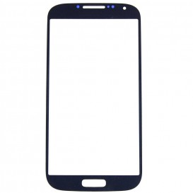 Front glass (black) + Stickers - Samsung Galaxy S4