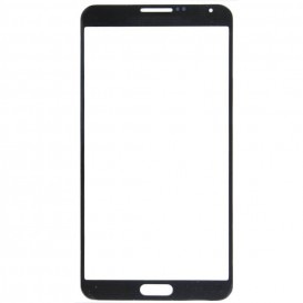 Front glass (black) + Stickers - Samsung Galaxy Note 3