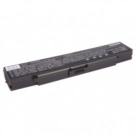 Batterie Sony 4400mAh 11,1V compatible VAIO  VGN-CR115, VAIO  VGN-CR116, VAIO PCG-5G1L, VAIO PCG-5G2L, VAIO PCG-5G3L, VAIO PC