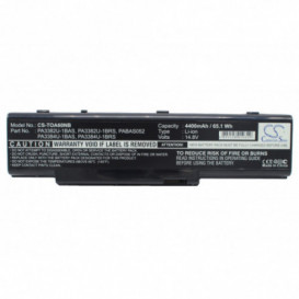 Batterie Toshiba 4400mAh 14,8V compatible Dynabook AW2, Dynabook AX/2, Dynabook AX/3, Satellite A60, Satellite A60-102, Satel