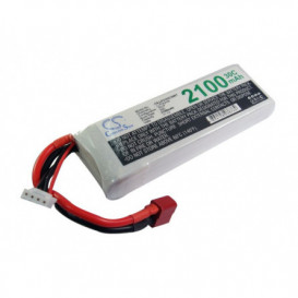 Batterie RC Li-Polymer 2100mAh 11,1V compatible LP2103C30RT