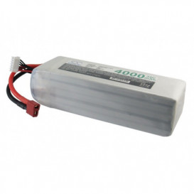 Batterie RC Li-Polymer 4000mAh 18,5V compatible LP4005C35RT