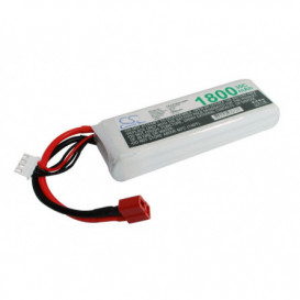 Batterie RC Li-Polymer 1800mAh 11,1V compatible LP1803C30RT