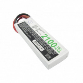 Batterie RC Li-Polymer 2100mAh 7,4V compatible LP2102C30RT