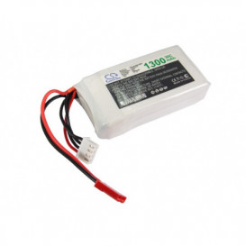 Batterie RC Li-Polymer 1300mAh 11,1V compatible LP1303C30RT