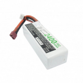 Batterie RC Li-Polymer 2400mAh 11,1V compatible LP2403C30RT
