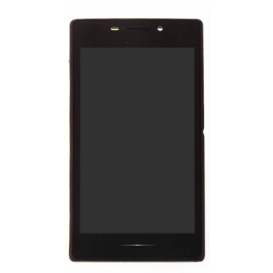 Screen BLACK (without frame) - Xperia M2