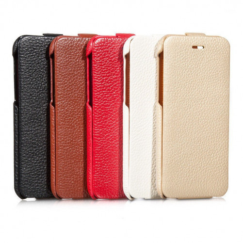 Hoco iPhone 6 / 6S leather clamshell case