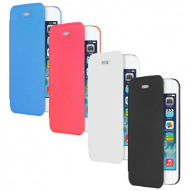 Folio Cover Moxie Case with Flap - iPhone 5/5S/SE