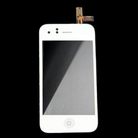 Touch Screen Digitizer Block + LCD - iPhone 3GS White