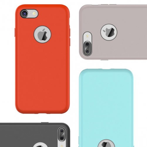 Silicone Case Touch Serie Rock iPhone 7 / iPhone 8