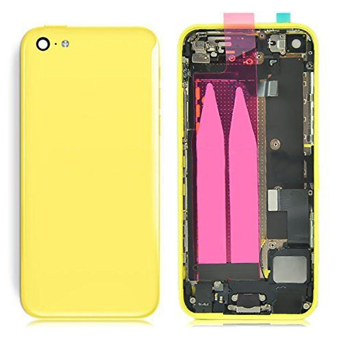 complete replacement back cover for iPhone 5C - Yellow