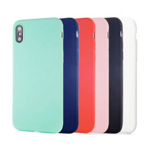 Coque Silicone iPhone X Xs (sans logo)