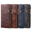 Vintage iPhone X / XS leather case