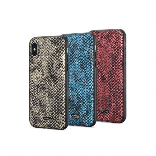 Coque TPU Cuir Python for iPhone X Xs