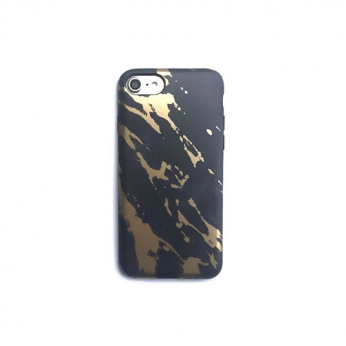 Coque souple or texture marbre iPhone 7 / iPhone 8