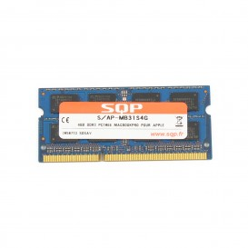 Kit 2 x 4 Go RAM SQP SoDimm DDR3 1066 MHz PC 8500