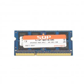 Kit 2 x 8 Go RAM SQP SoDimm DDR3 1600 MHz - PC3-12800