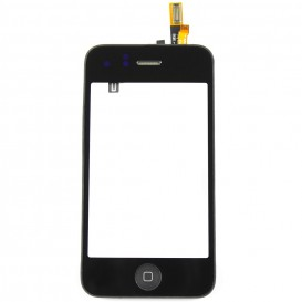 Complete Black Touch Screen Digitizer Block - iPhone 3G