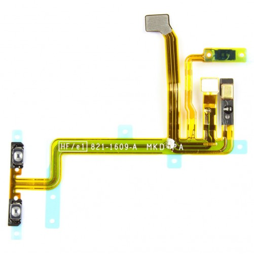 Power + volume + button cable + microphone - iPod Touch 5G