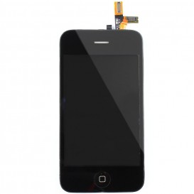 Bloc Vitre tactile + LCD - iPhone 3GS NOIR