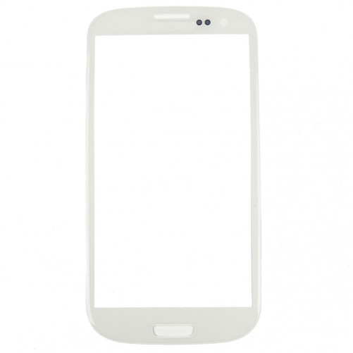 Vitre tactile Blanche + stickers - Samsung Galaxy S3