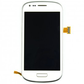 Complete Screen Assembly WHITE - Galaxy S3 Mini