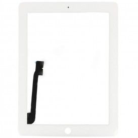 Vitre tactile Blanche - iPad 3 / 4