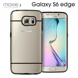 Moxie Plexiglass Neo Black case - Galaxy S6 Edge