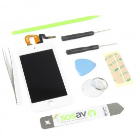 Complete Screen Assembly DIY  Repair Kit (white) - iPod touch 5G White