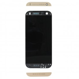 Complete Screen Assembly GOLD (LCD + Touchscreen + Frame) - HTC One Mini 2