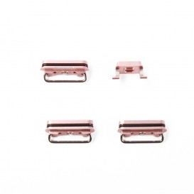 Set of 4 Rose Gold buttons (Volume, power, vibrate ring switch) - iPhone 6S