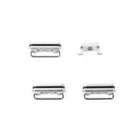 Set of 4 White Buttons (Volume, power, vibrate ring switch) - iPhone 6S