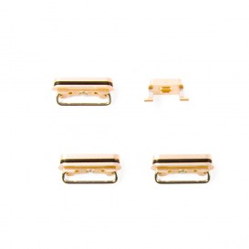 Set of 4 gold buttons (Volume, power, vibrate ring switch) - iPhone 6S