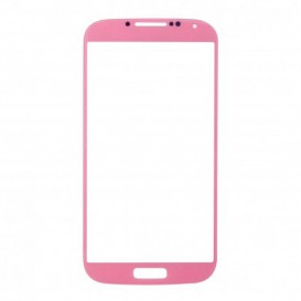 Touch screen (pink) + Stickers - Samsung Galaxy S4