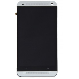 Complete Screen Assembly WHITE - HTC One (M7)