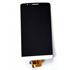 Complete Screen Assembly WHITE - LG G3