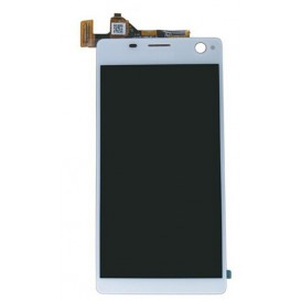 Complete Screen Assembly WHITE - Xperia C4