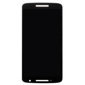 Complete Screen Assembly BLACK (LCD + Touchscreen) - Moto X Play